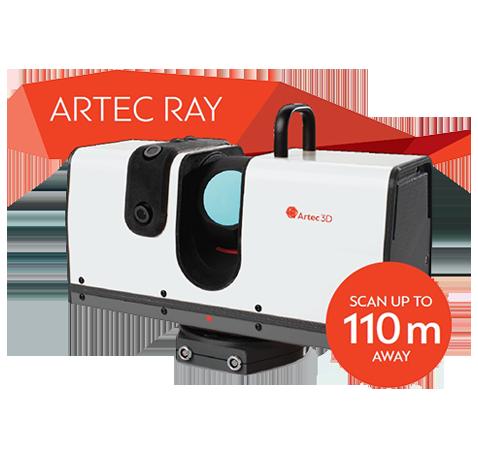 Artec Ray Scanner - Digital Scan 3D