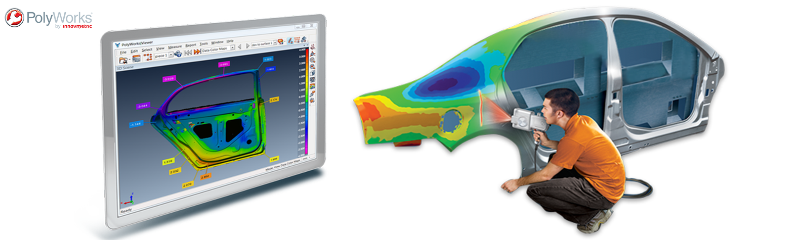 PolyWorks Metrology Inspection Software banner